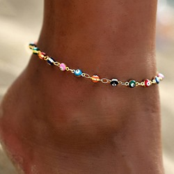 Geometric Female European Anklets Anklets