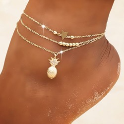 Sweet Female Star Anklets Anklets