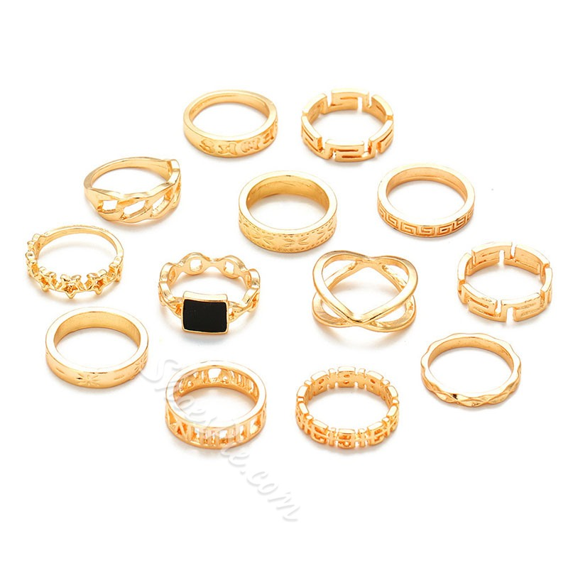 European E-Plating Party Rings