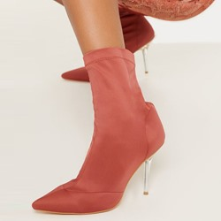 Shoespie Sexy Stiletto Heel Plain Pointed Toe Casual Boots