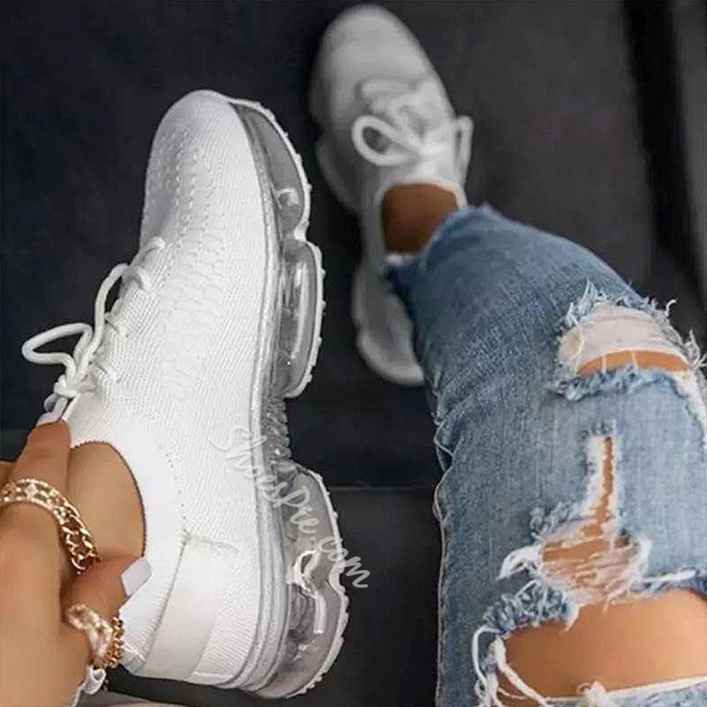 Shoespie Trendy Low-Cut Upper Lace-Up Round Toe Flat With Sneakers