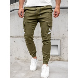 Print Pencil Pants Thin Lace-Up Mid Waist Casual Pants
