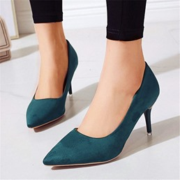 Shoespie Trendy Stiletto Heel Pointed Toe Slip-On Sexy Thin Shoes