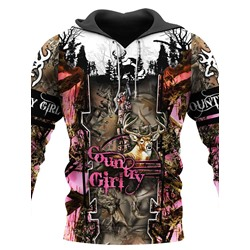 Regular Pullover Print Hooded Spring Hoodies