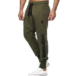 Baggy Pants Color Block Patchwork Sports Fall Casual Pants