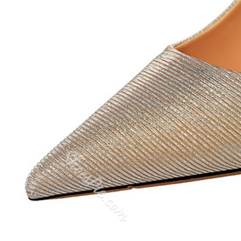 Shoespie Trendy Slip-On Pointed Toe Stiletto Heel Western Thin Shoes