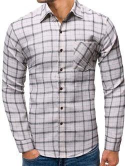 Plaid Casual Lapel Single-Breasted Fall Shirt