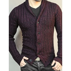 V-Neck Plain Standard European Fall Sweater