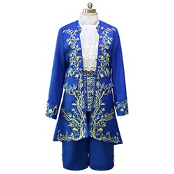 Print Long Sleeve Cotton Men's Costumes