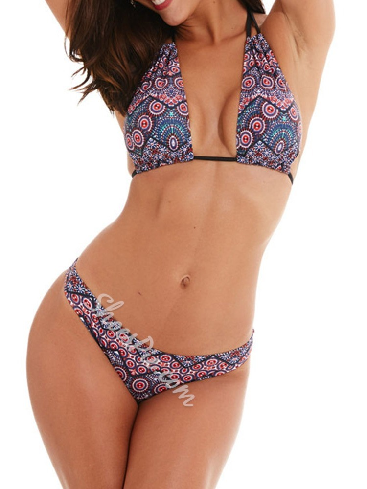Bikini Set Geometric Fashion Women's Swimwear