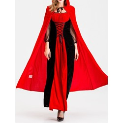 Western Color Block Classic Halloween Women's Costumes