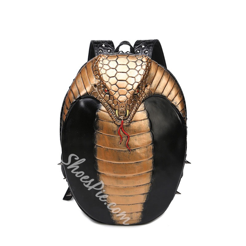 Shoespie Animal Thread PU Backpacks