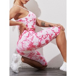 Floral Print Sport Two Piece Set