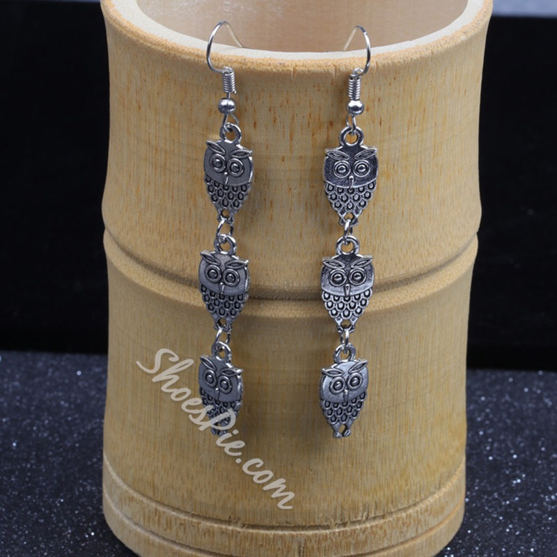 European Alloy Prom Earrings