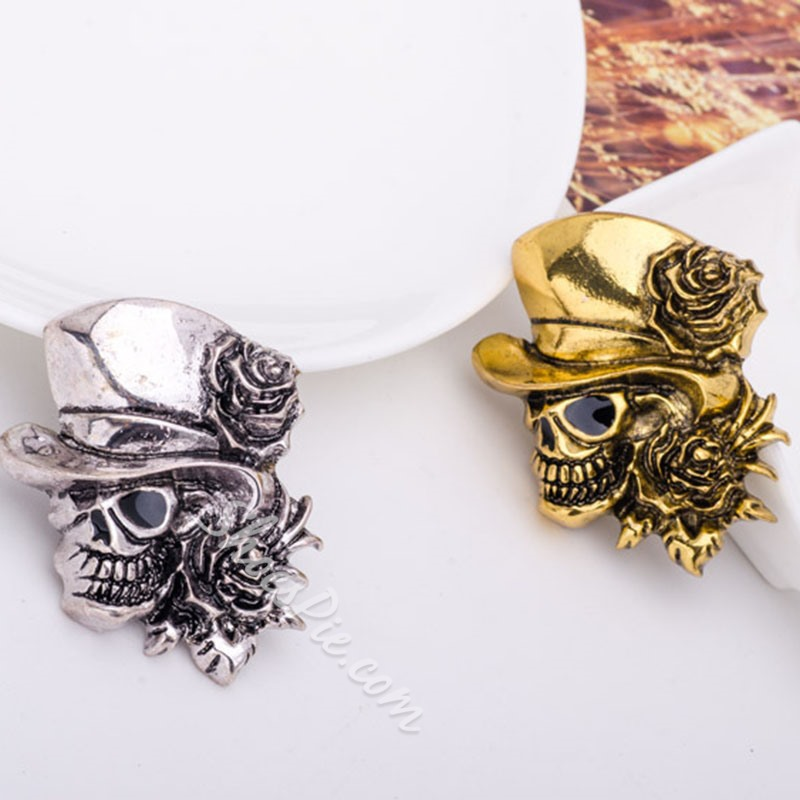 Skeleton Alloy European Brooches Brooches