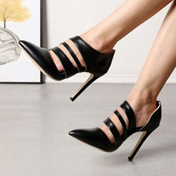 Shoespie Trendy Slip-On Stiletto Heel Pointed Toe Casual Thin Shoes