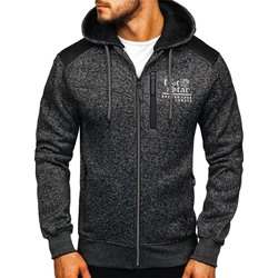 Patchwork Regular Cardigan Zipper Fall Hoodies