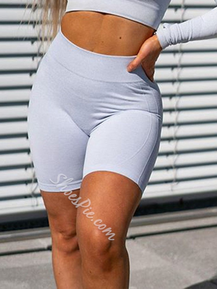 Seamless Joint Solid Quick Dry Nylon Summer Shorts Pants