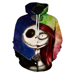 Pullover Print Color Block Pullover Hooded Hoodies