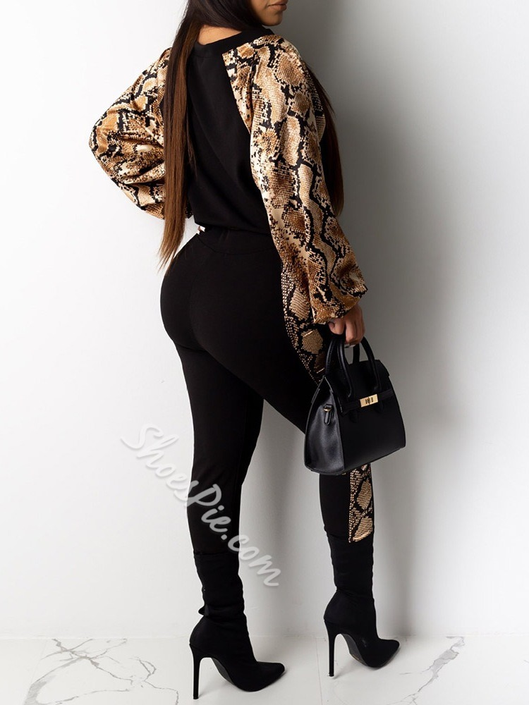 Quick Dry Polyester Print Full Length Long Sleeve Clothing Sets