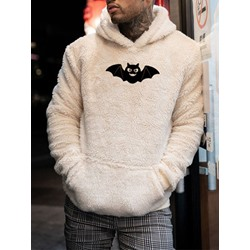 Animal Thick Pullover Loose Fall Hoodies