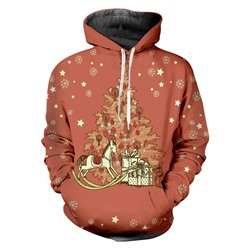 Print Pullover Cartoon Fall Pullover Hoodies