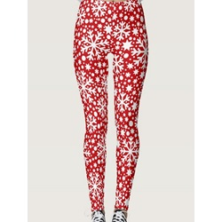 Christmas Geometric Casual Women's Leggings