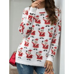 Basic Long Sleeve Women's Sweater