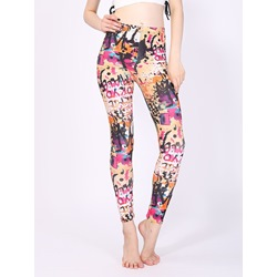 Geometric Casual Women's Leggings