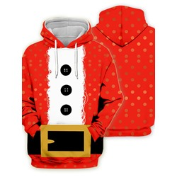 Polka Dots Pullover Print Pullover Loose Hoodies