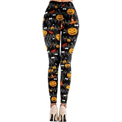 Animal Casual Low Waist Women's Leggings