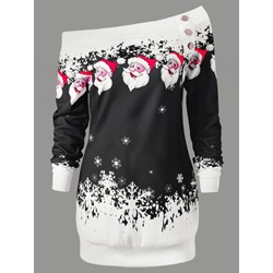 Print Cartoon Regular Mid-Length Women's Hoodie