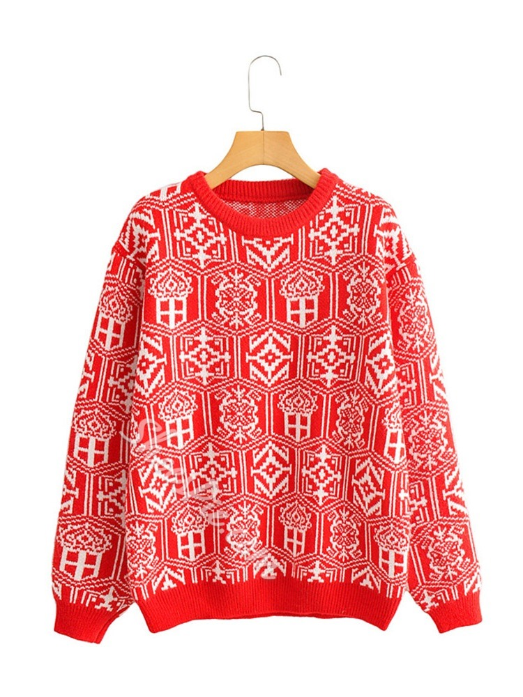 Christmas Red Women's Sweater