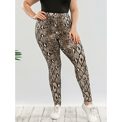 Skinny Serpentine Ankle Length Women's Casual Pants