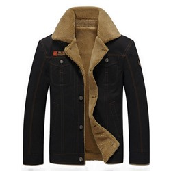 Thick Lapel Embroidery Casual Slim Jacket