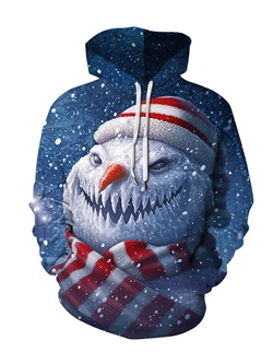 Pullover Print Pullover Winter Hoodies