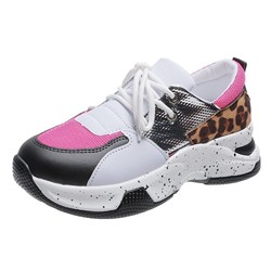 Shoespie Sexy Round Toe Lace-Up Low-Cut Upper Casual Sneakers