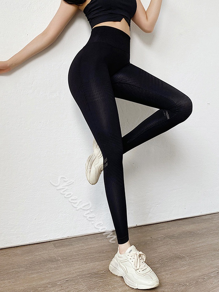 Cotton Blends Breathable Solid Ankle Length Spring Pants