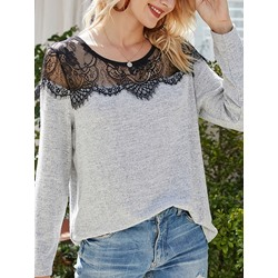 Regular See-Through Thin Fall Women's Sweater
