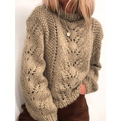 Hollow Loose Women's Sweater