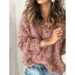 Loose Casual Women's Sweater