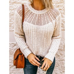 Regular Hollow Fall Women's Sweater