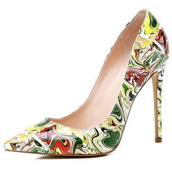 Shoespie Trendy Slip-On Pointed Toe Stiletto Heel Banquet Thin Shoes