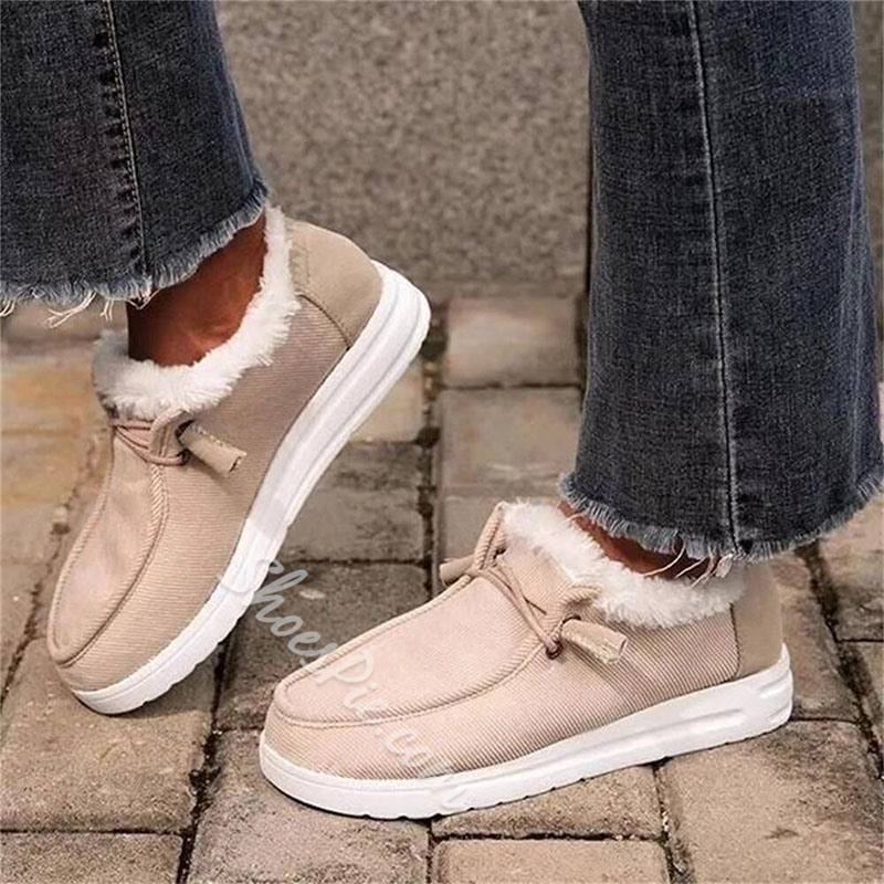 Shoespie Stylish Round Toe Elastic Band Plain Thin Shoes