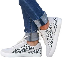 Shoespie Trendy Round Toe Cross Strap Lace-Up Flat With Sneakers
