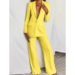 Pants Elegant Full Length Women's Suit