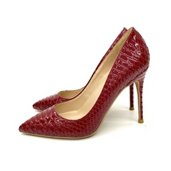 Shoespie Sexy Stiletto Heel Pointed Toe Serpentine OL Thin Shoes