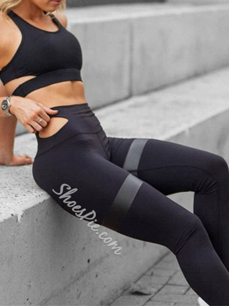 Polyester Breathable Pullover Yoga Clothing Sets