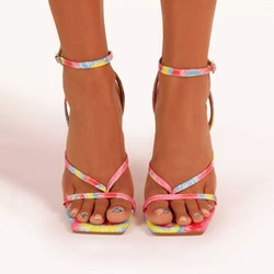 Shoespie Trendy Ankle Strap Buckle Open Toe Buckle Sandals
