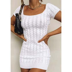 Above Knee Short Sleeve Regular Women's Dress